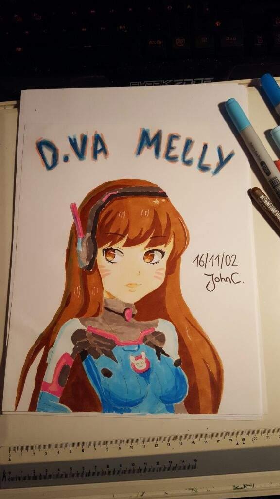 576x1024 Dva Drawing C Overwatch Amino
