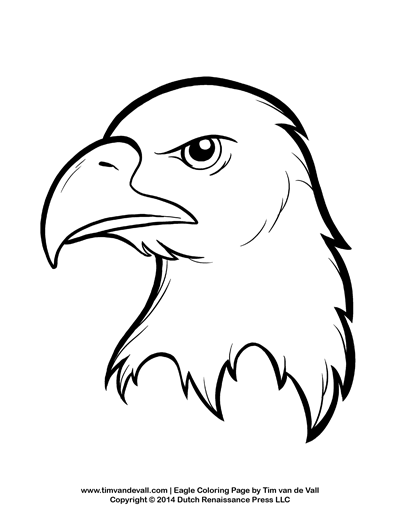 400x518 Bald Eagle Coloring Page For Kids Patriotic Coloring Pages