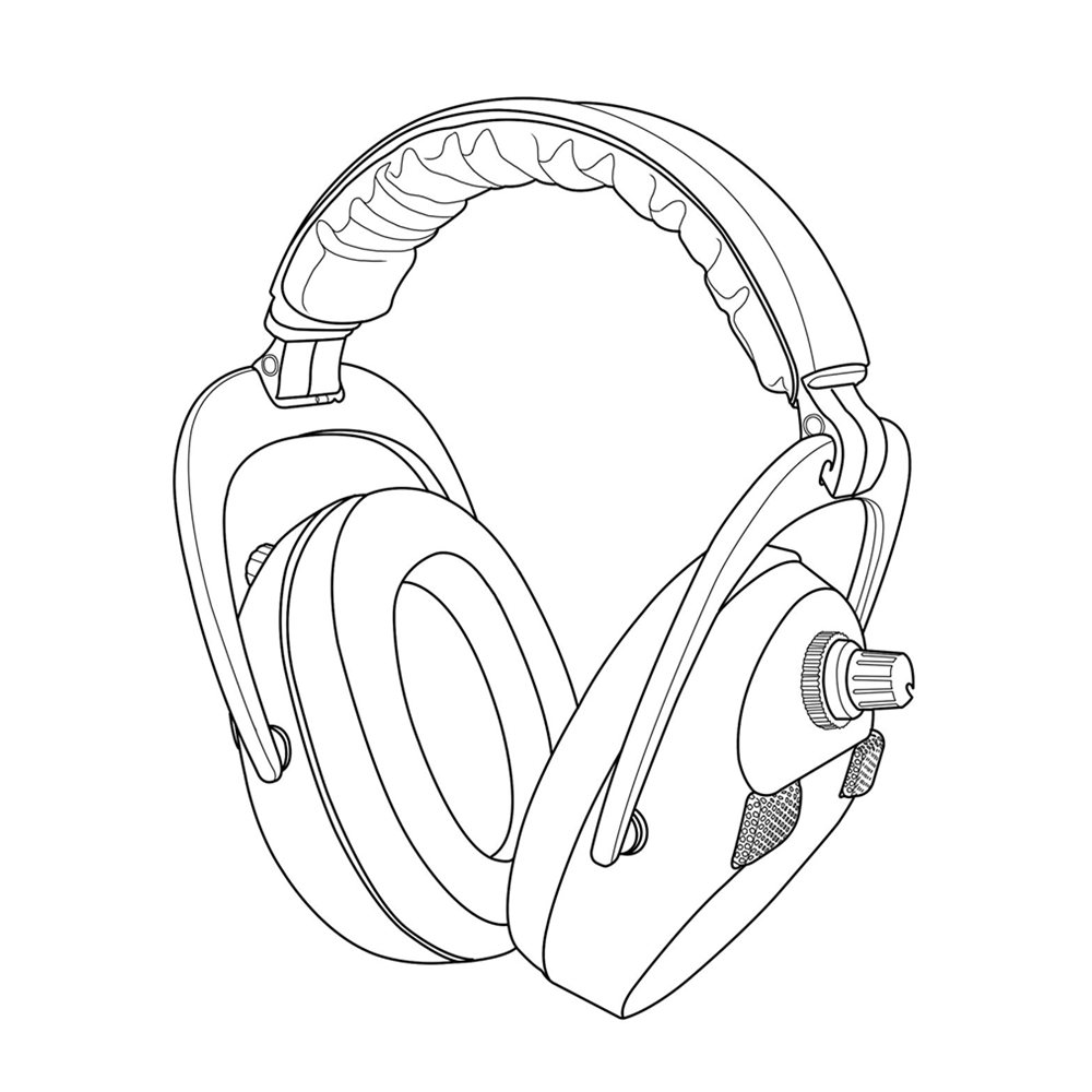 earmuffs drawing at getdrawings com