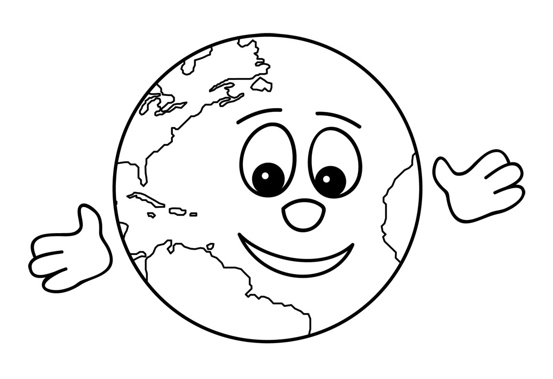 1140x782 Drawn Child The World Clipart Black And White