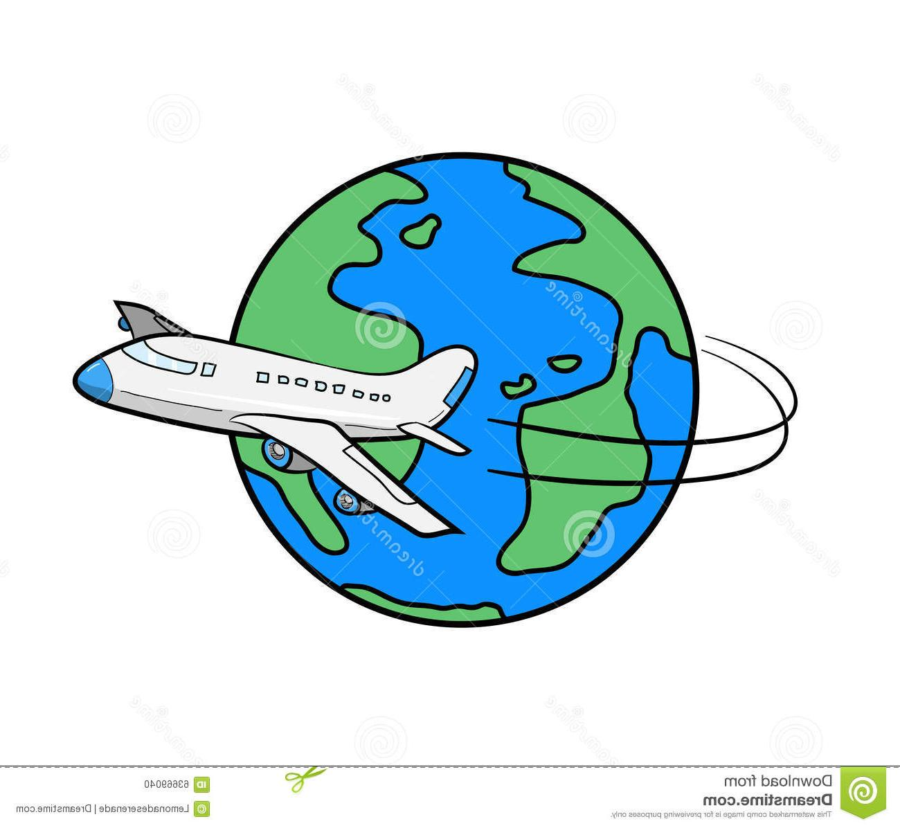 1300x1196 Top Travel Clipart Earth Drawing