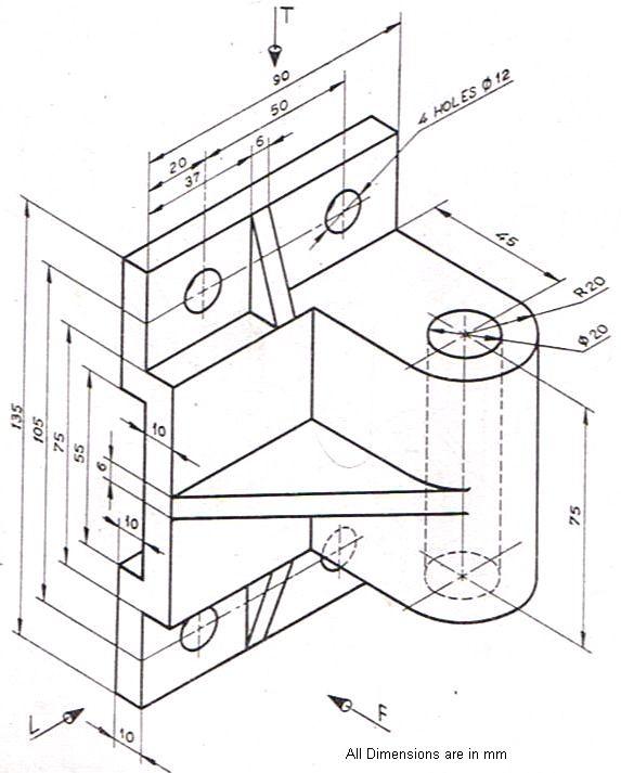573x713 01 Free Autocad Exercises Basic Autocad Exercises Simple Autocad