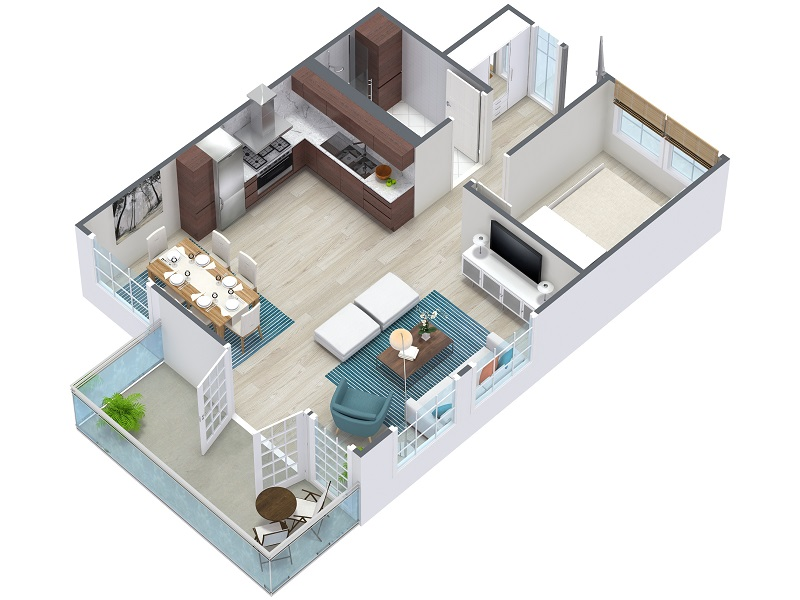 800x600 3D Floor Plans RoomSketcher