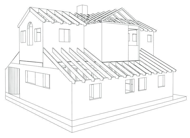 800x581 3d House Drawing House 3d House Drawing Software Free Download
