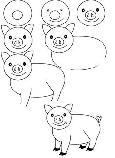 Easy Drawing For Little Kids