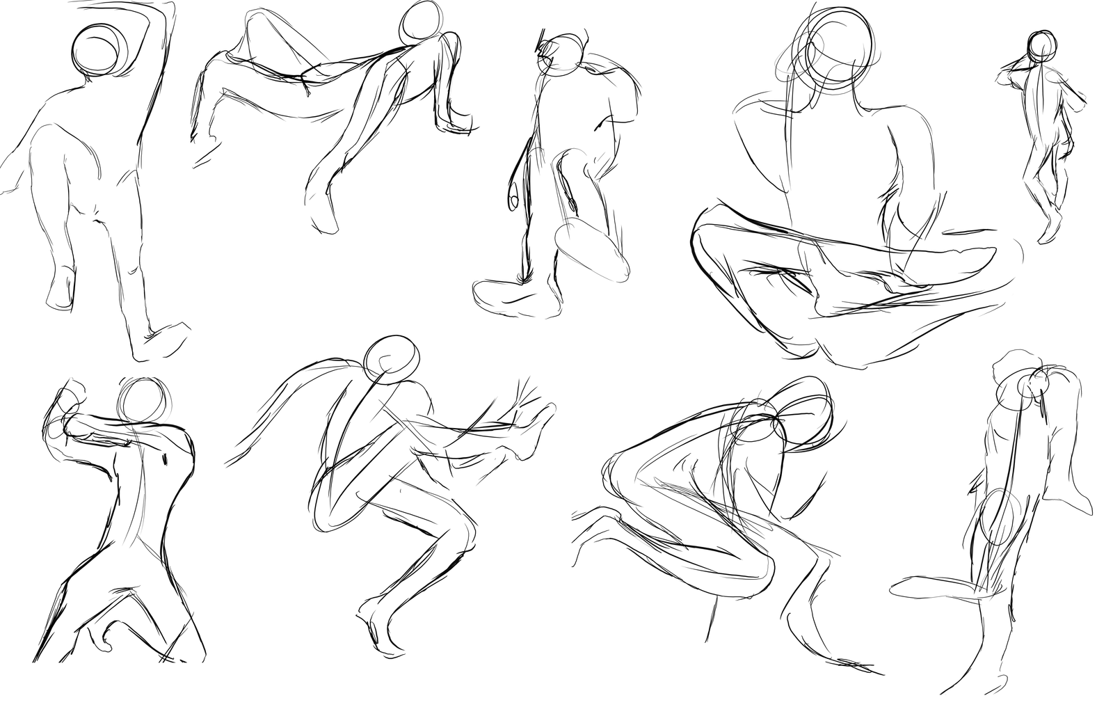 1600x1016 Gesture Drawings 3 28 12 By Keartricity