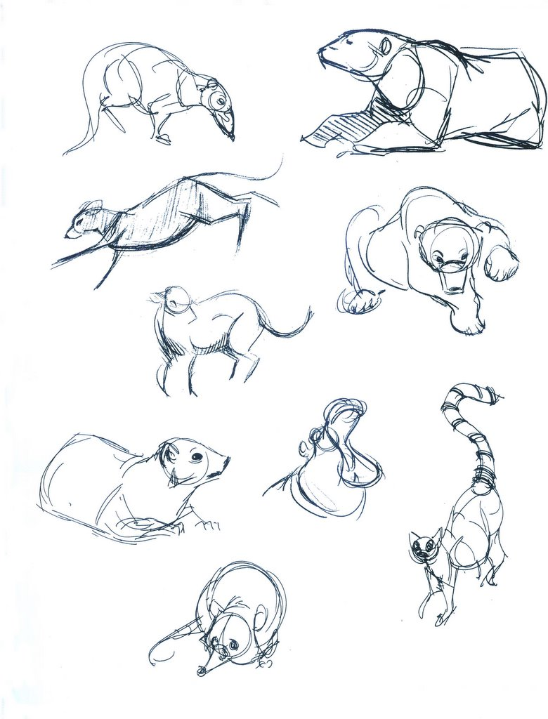 780x1024 Hector Lopez Sketchbook Drawings