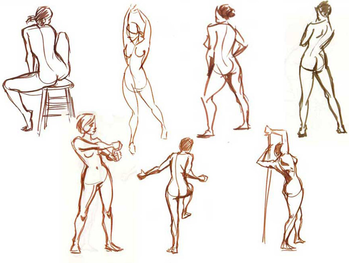 700x528 Collection Of Gesture Drawing Lesson High Quality, Free