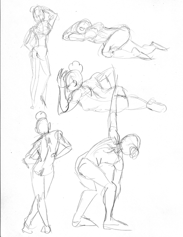 Easy Gesture Drawing At Getdrawings Free For Personal Use Easy