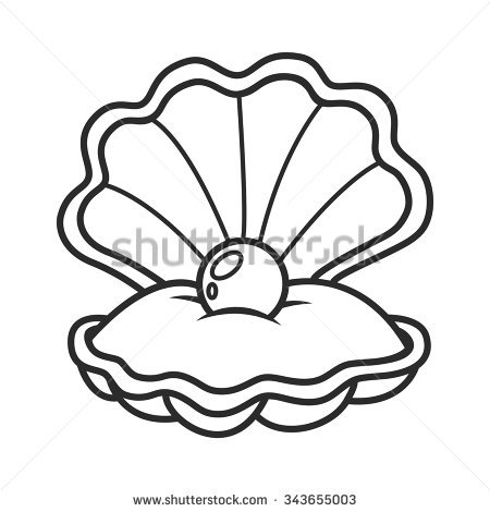 Easy Seashell Drawing