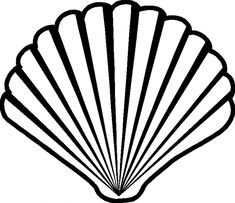 235x203 Seashell Drawing Lovely Zigzag Scallop Seashell Drawing Coloring