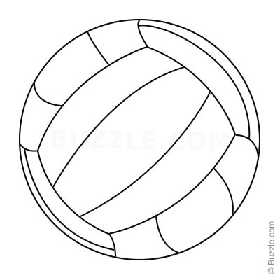 400x400 Over The Net! Easy Steps To Draw 3 Different Volleyballs