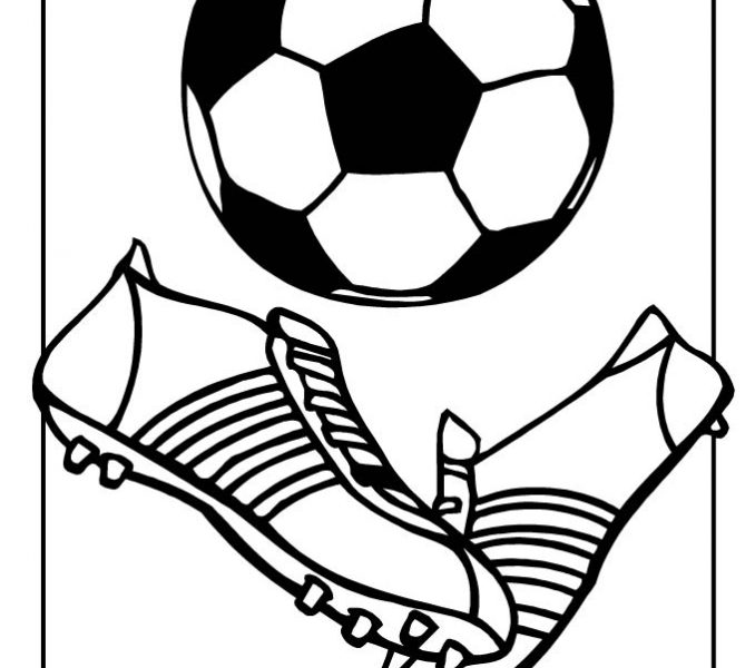 678x600 Soccer Ball Coloring Page Soccer Ball Coloring Page Woo Jr Kids