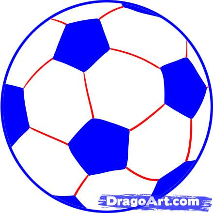 440x440 Collection Of Soccer Ball Drawing Easy Step By Step High