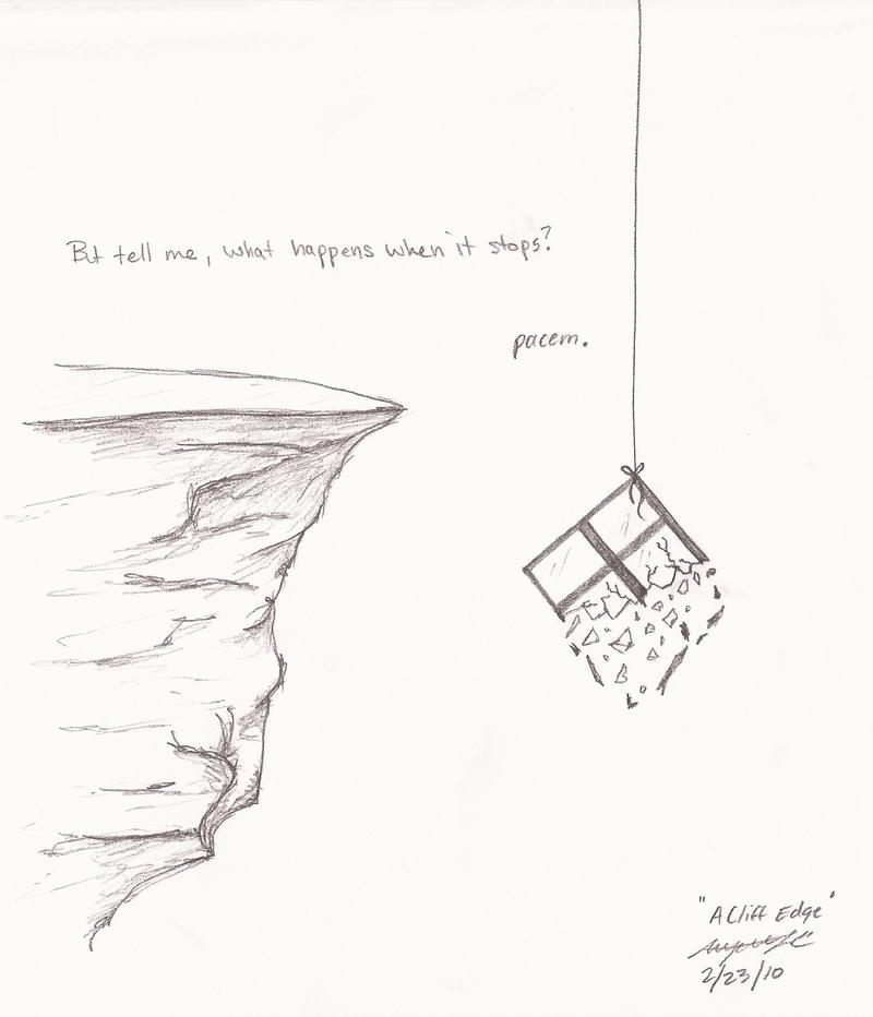 800x932 Drawn Cliff Cliff Edge