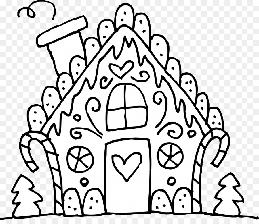 900x780 Gingerbread House Eggnog Gumdrop Candy Cane Coloring Book