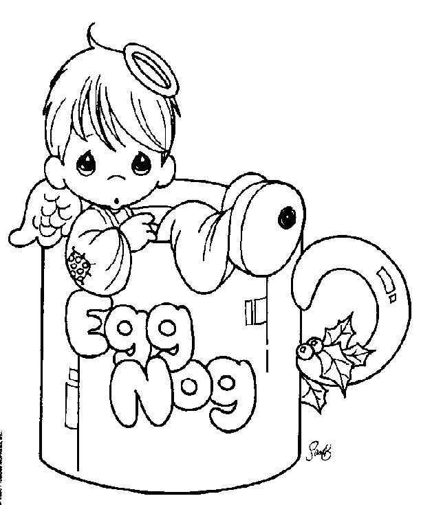612x735 Precious Moments Coloring Pages