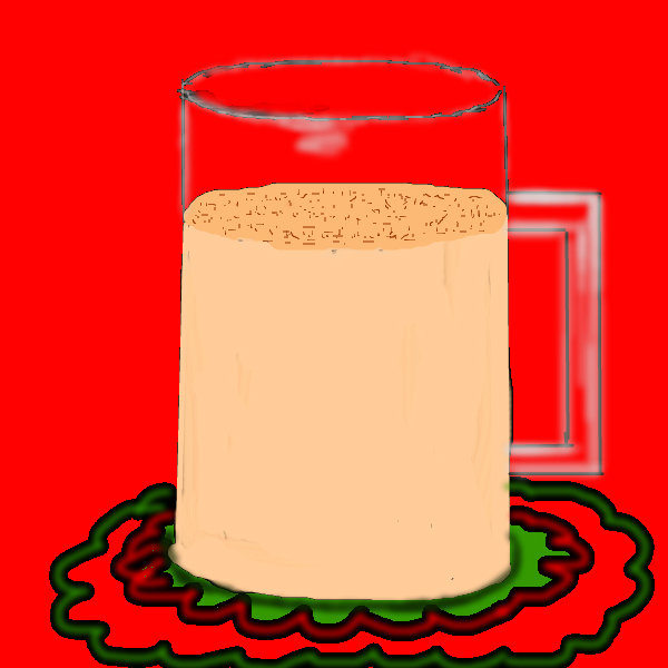 600x600 Egg Nog A Objects Speedpaint Drawing By Sketchpad