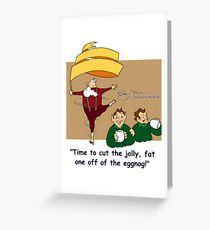 210x230 Eggnog Drawing Greeting Cards Redbubble