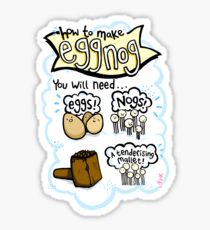 210x230 Eggnog Drawing Stickers Redbubble