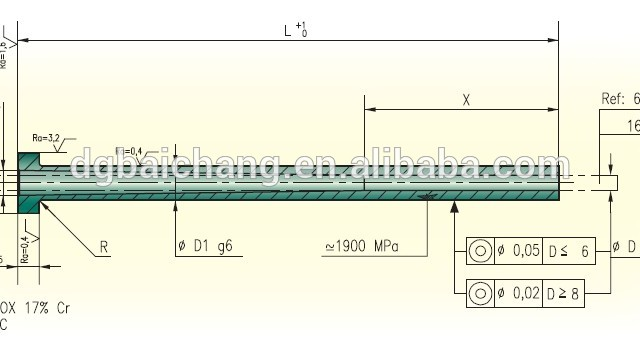 640x357 Ejector Sleeve Drawing Source Quality Ejector Sleeve