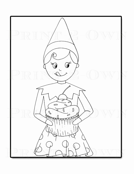 570x738 Elf On The Shelf Coloring Pages Elf On The Shelf Drawing Ohmygirl.us