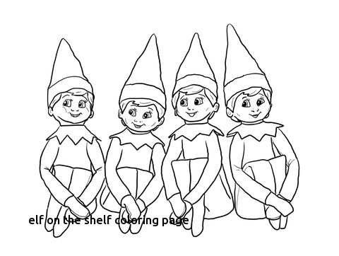480x362 Elf On The Shelf Girl Coloring Pages Preschool Photos Of Humorous
