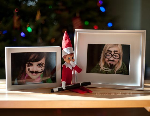 640x494 50 Creative, Fun Elf On The Shelf Ideas