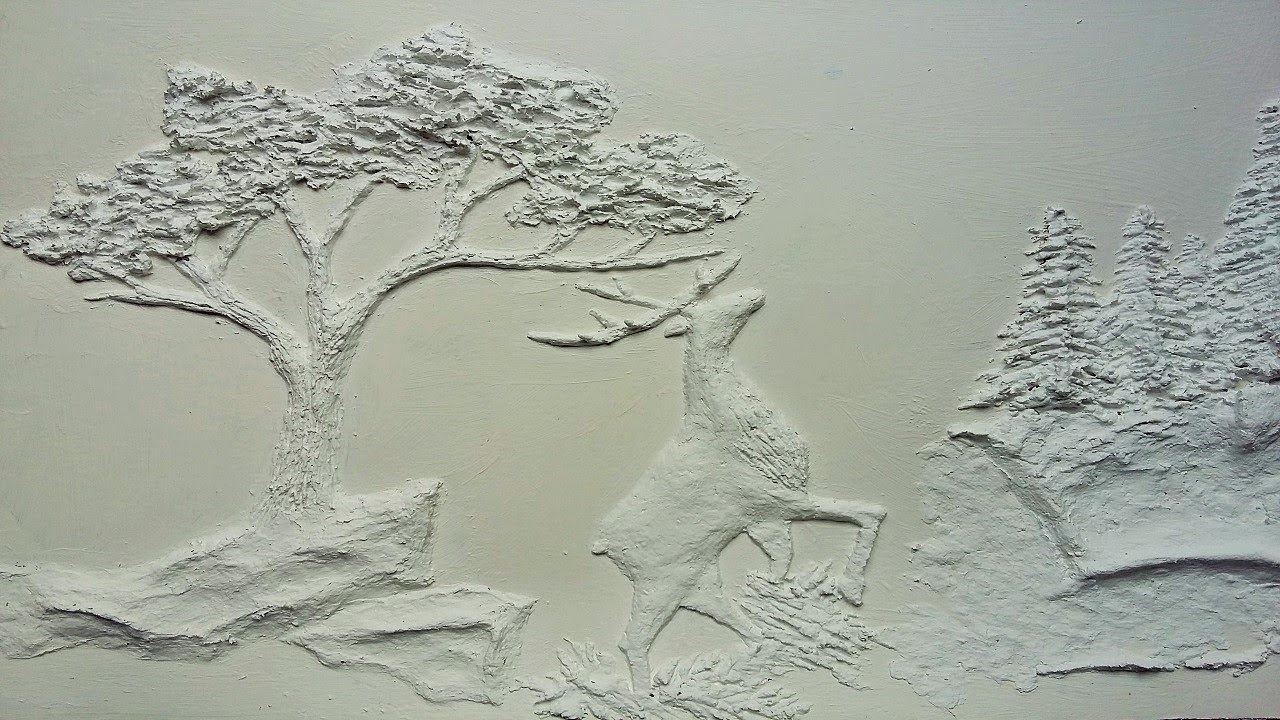 1280x720 How To Make Embossed Painting