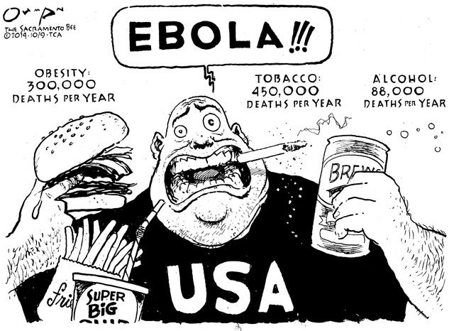 640x466 I Remember When The Ebola Outbreak Happened, It Was The Only Thing