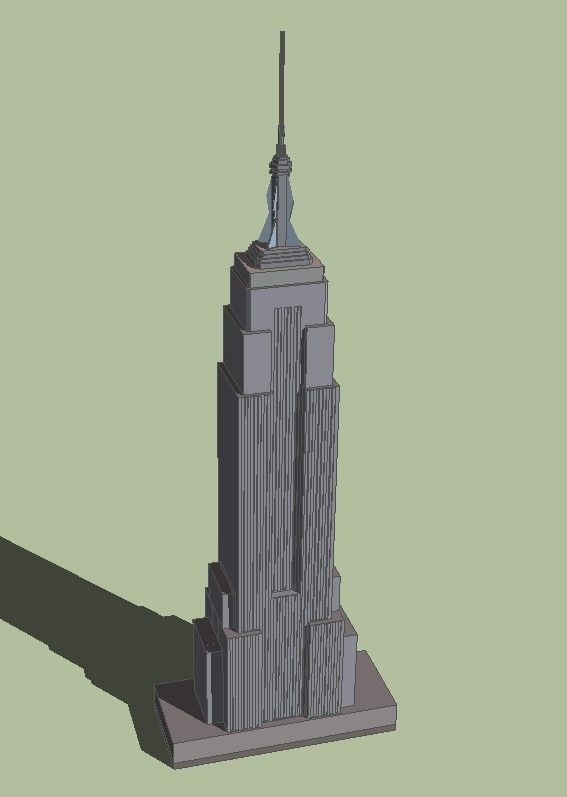 567x797 Trade Empire State Building 3d Cgtrader