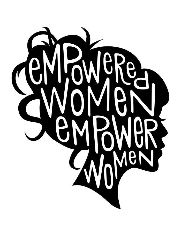700x906 Empowering Woman Work Woman, Feminism And Girl Power