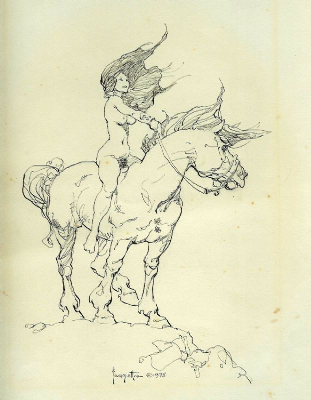 623x800 Frank Frazetta His Drawings Of Women Are Just So Awesome