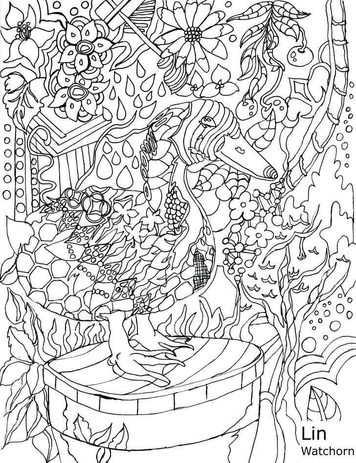 Enchanted Forest Drawing Book At Getdrawings Com Free For