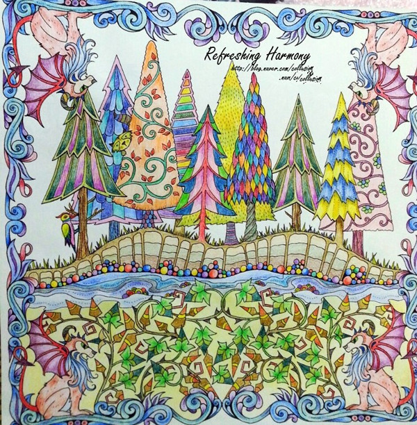 600x612 Enchanted Forest An Inky Quest Amp Coloring Book For Children Adult