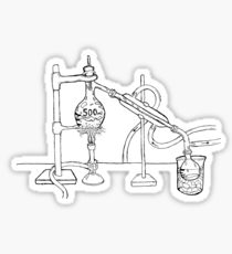 210x230 Flask Drawing Stickers Redbubble
