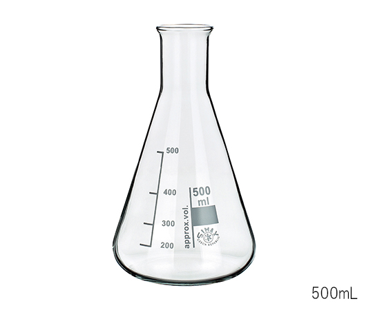 540x450 3 6009 06 Erlenmeyer Flask 500ml [Axel] Asone