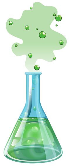 236x563 Beautiful Erlenmeyer Flask Clip Art Chemistry Conceptual Drawing