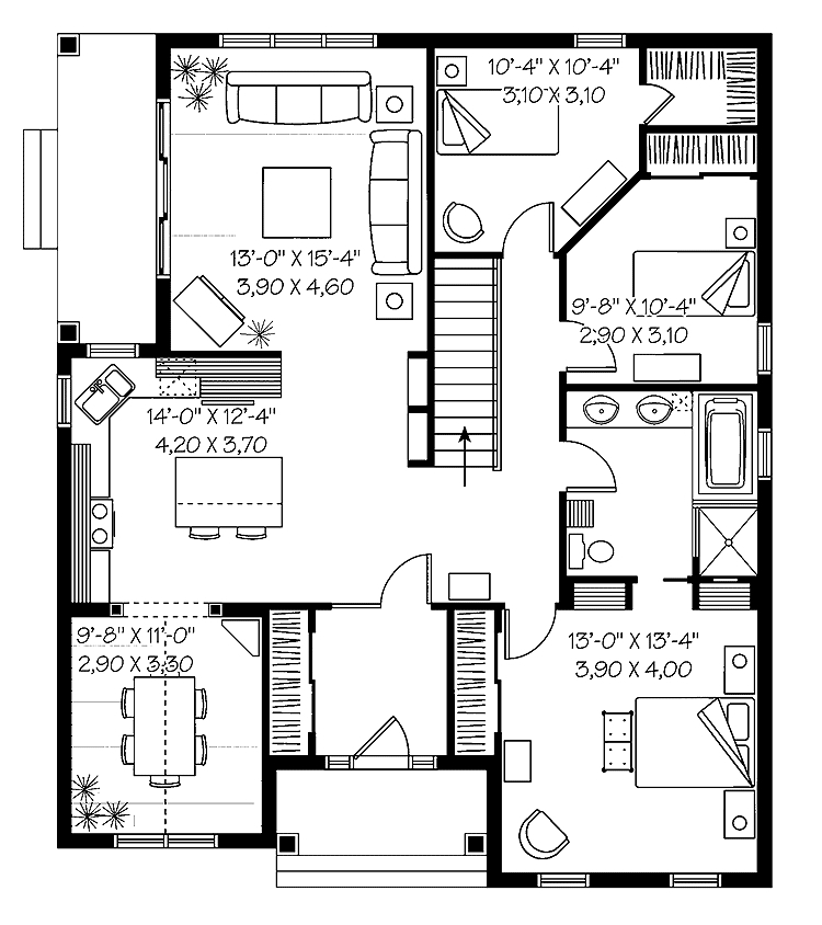 750x844 Floor Plans And Cost To Build Homes Floor Plans House Building