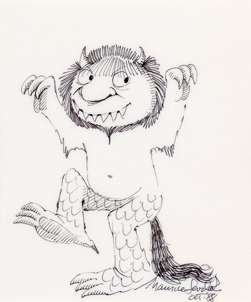 832x1000 Maurice Sendak Auction Drawings And Rare Edition