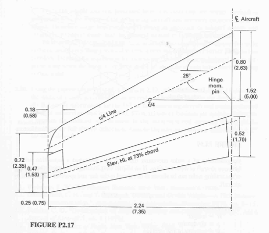 548x475 The Elevator For A Business Jet Aircraft Is Shown .
