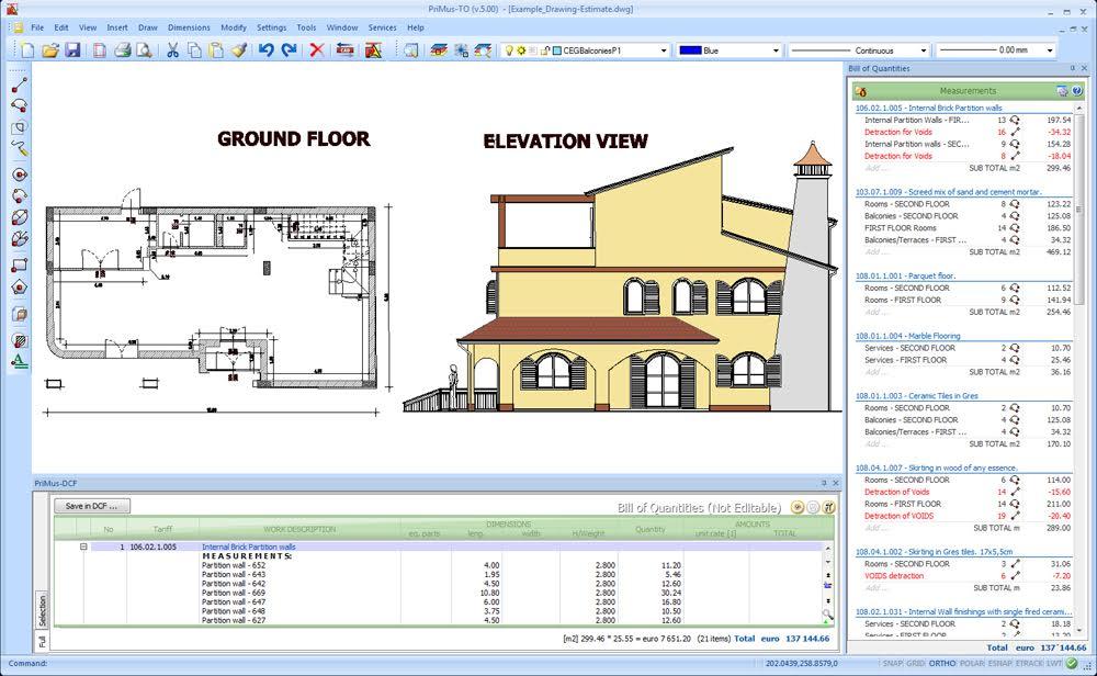 1000x616 Construction Estimating Software Bird Houk Amp Associates