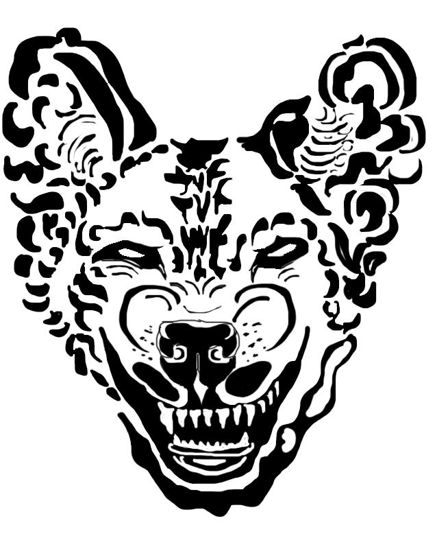 Evil Dog Drawing