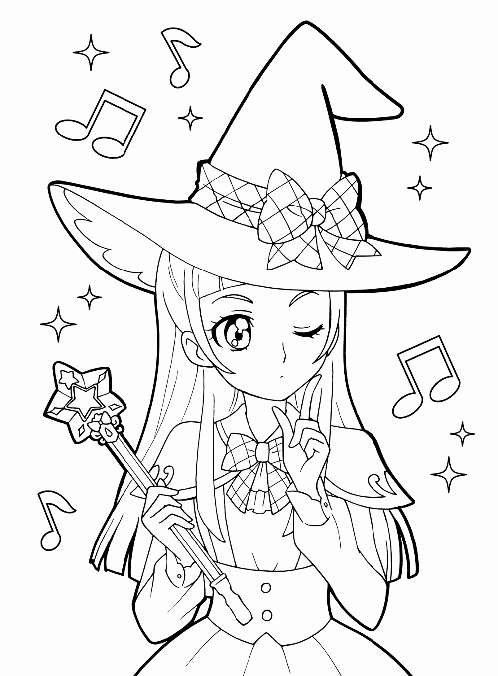 1000x1357 Draw Coloring Pages Example Pin By Mama Mia On Anime Shojo