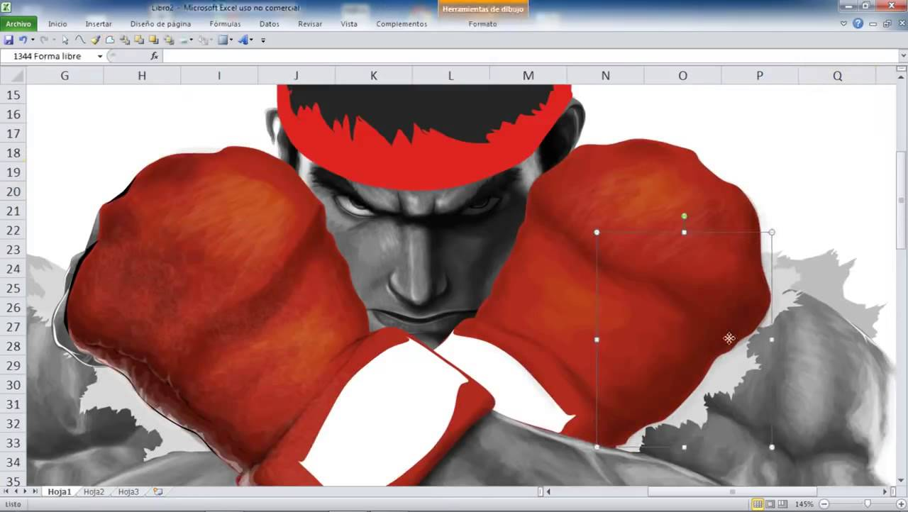 1280x722 How To Draw (Ryu) Using
