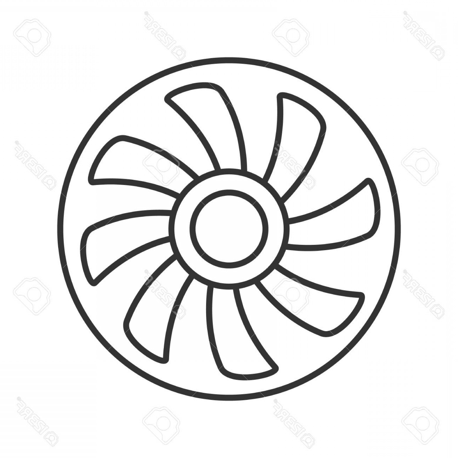 Exhaust Fan Symbol Drawing At Getdrawings Com Free For