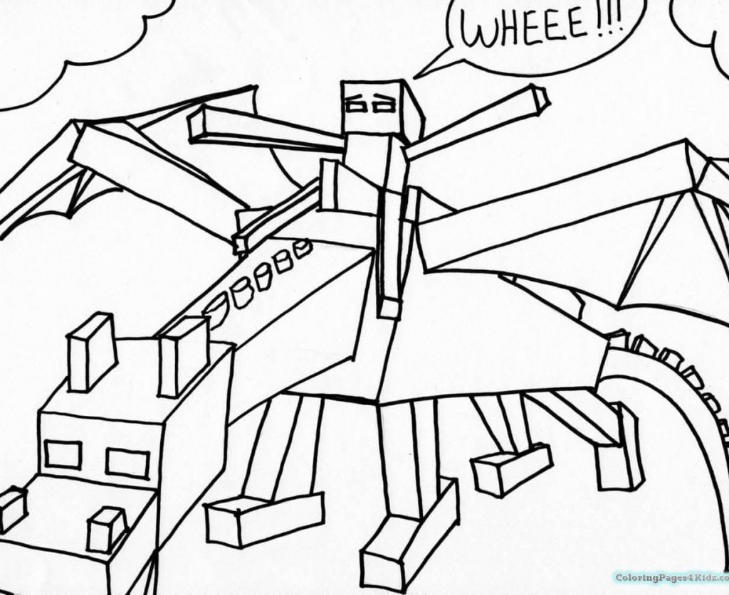 1024x837 Soar Mine Craft Coloring Pages Expert Minecraft Free Printable