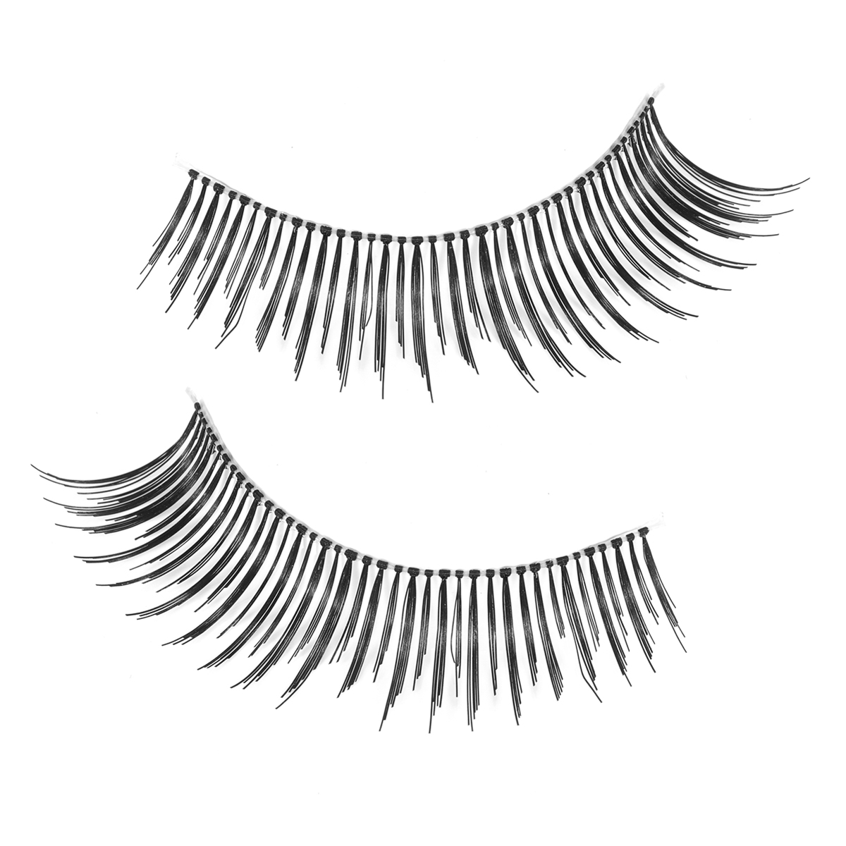 1200x1200 1 Pair Natural False Eyelashes Black Long Sparse Curl Fake Eyelash