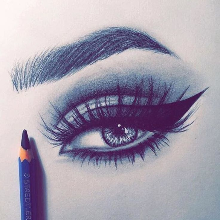 eyebrows and eyelashes drawing at getdrawings com free for