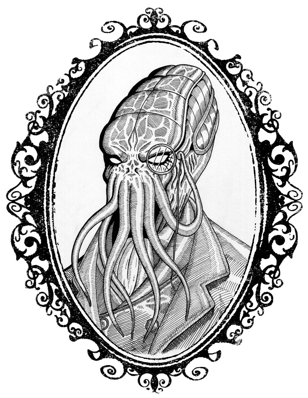 1024x1325 Fancy Cthulhu By Adamtupper